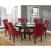 Found it at Wayfair - Hartford 8 Piece Dining Set (Love these chairs)