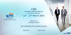 Get Yourself Certified SCRUM Master