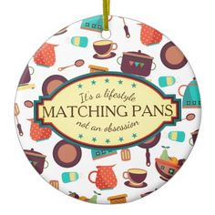 #chef - #Matching pans obsession cooking Christmas ornament