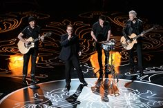 See the Academy Awards at the Dolby Theatre in Hollywood unfold with memorable moments from the show. Songs Of Innocence, Jools Holland, Paul Hewson, Irish Rock, Larry Mullen Jr, Bono U2, Adam Clayton, Bbc Two, Sam Smith