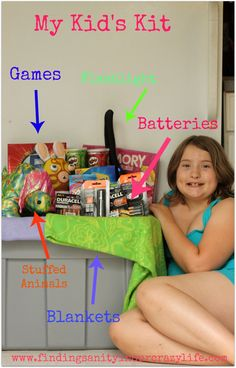 #PrepwithPower Keep your Kid's Calm during a storm with a Kid's Kit filled with their Favorite things and Duracell Batteries in your Flashlights #Shop #Cbias