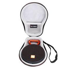 Travel Carrying Storage Bag Hard Case for JBL Clip 2 Waterproof Portable Black #TravelCarryingStorage