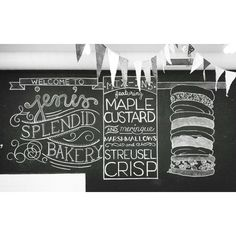Jeni's Splendid Bakery - Chalkboard - Jeni's Splendid Ice Creams - Photo by kelseyemc