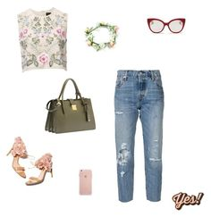 Designer Clothes, Shoes & Bags for Women Anya Hindmarch, Fulton, Needle And Thread, Miu Miu, Shoe Bag, Polyvore, Stuff To Buy, Shopping, Collection
