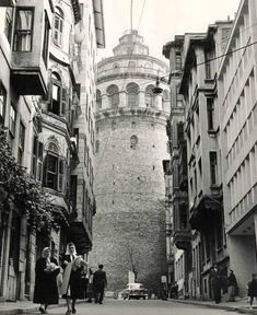 Galata Tower, İstanbul, Turkey, 1960s by unknown photographer