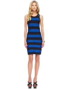 Striped Bandage Dress by MICHAEL Michael Kors at Neiman Marcus.