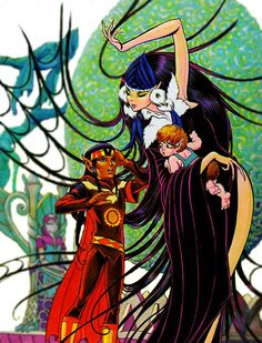 ElfQuest - Siege at the Blue Mountain - Enter the Web of Winnowill