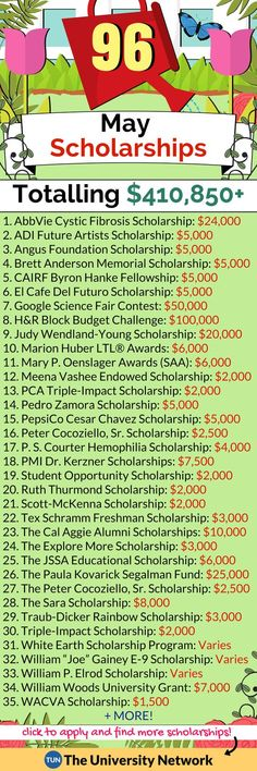 Scholarships Here is a selected list of May 2018 Scholarships worth checking out!Here is a selected list of May 2018 Scholarships worth checking out! School Scholarship, Scholarships For College, College Students, College Grants, Nclex, College Life Hacks, College Tips, College Dorms, School Hacks