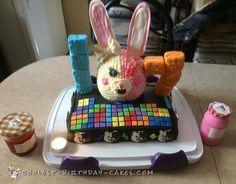 Awesome Danganronpa Gamer Cake... Coolest Birthday Cake Ideas