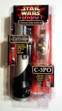 NEW in Box Star Wars EPISODE 1 Collector Watch of C-3PO Neat Collectors Item..free shipping