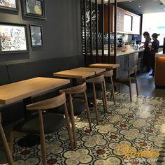 V20-045-F-01 Tudor Kitchen, Cement, Vietnam, Tiles, Restaurant, Furniture, Design, Home Decor, Room Tiles