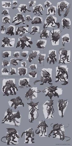 ArtStation - Creature Concept Art, Baldi Konijn