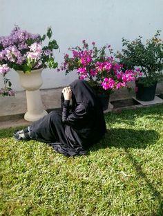 In My Brautiful garden Alhamdulillaah