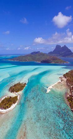 Amazing and Beautiful Bora Bora | Top 10 World`s Most Amazing Exotic Islands