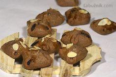 Perníková psaníčka s ořechovou nádivkou