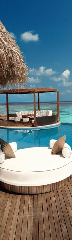 Chillout zone, Maldives Islands