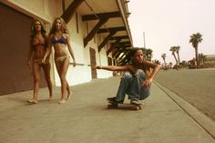Photos by Hugh Holland, a photographer who captured the skate scene in Los Angeles in the 1970s.