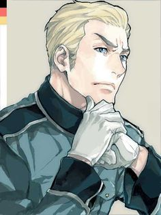 Aph Germany  >> Really like this one, he looks really manly and handsome