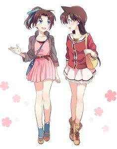 Ran and Kazuha http://www.pixiv.net/member_illust.php?mode=medium&illust_id=53571647