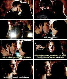 The Vampire Diaries: Delena moments