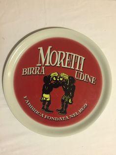 Piatto Pizza Birra Moretti Da Collezione