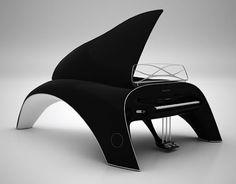 Piano Design Whaletone par Robert Majkut decodesign / Décoration