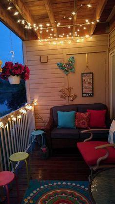 41 ideas for small apartment patio ideas diy tiny balcony plants Patio. Veranda Design, Small Balcony Design, Tiny Balcony, Small Balcony Decor, Balcony Plants, Small Patio, Privacy Plants, Balcony Gardening, Patio Plants