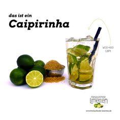 der Caipirinha von den freilaufenden Limetten.