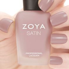 $10.44 - Zoya Zp780 Brittany Naturel Satins Collection Rose Mauve Matte Nail Polish #ebay #Fashion