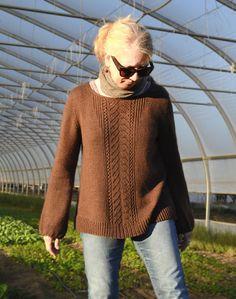 Meadow Road Pullover Knitting Pattern PDF