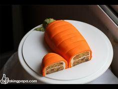 Bakingpapa- Carrot cake 당근 케이크 - YouTube