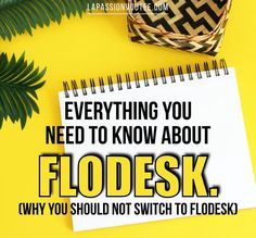 "The internet is buzzing about Flodesk, the ""latest and greatest"" email marketing platform for creatives. But here are 5 reasons you should not switch! Email Marketing Software, Seo Tips, Creating A Blog, Blogging For Beginners, Make Money Blogging, Social Media Tips, How To Start A Blog, Writing Prompts, Online Business"