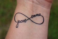Name of your children tattoo-