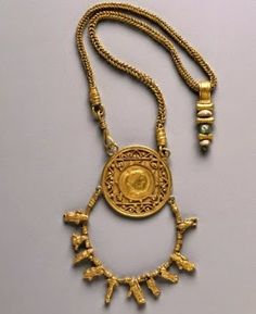 Roman Medallion Necklace from The Cleveland Museum of Art