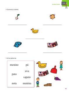 método das 28 palavras fichas - Pesquisa Google Dots, School, Alice, Literacy Activities, Language Activities, Note Cards, Reading, Autism, Manualidades