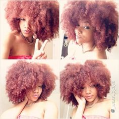 Fro fun with ✌️ Natural Hair Inspiration, Natural Hair Tips, Natural Hair Journey, Natural Hair Styles, Natural Life, Afro Textured Hair, Queen Hair, Afro Hairstyles, Hairdos