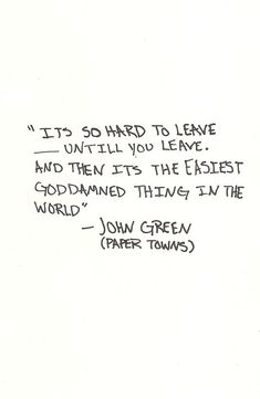 John Green; I love this book.