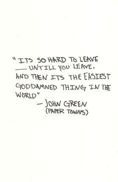 John Green; I love this book.