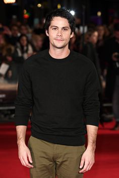 Dylan O´Brien at the red carpet premiere of The Death Cure in London, 22 January 2018