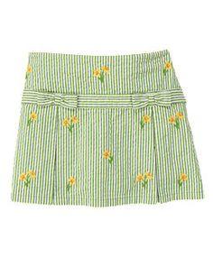 Daffodil Stripe Skort
