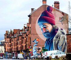 The work of Smug in Glasgow #streetart