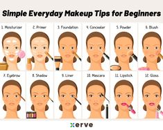 Simple Everyday Makeup Tips for Beginners - Rashmi Shetty - Medium tips . - Simple Everyday Makeup Tips for Beginners – Rashmi Shetty – Medium tips for beginners S - Simple Everyday Makeup, Everyday Makeup Tutorials, Makeup Tutorial For Beginners, Basic Makeup For Beginners, Makeup Essentials For Beginners, Makeup Products For Beginners, Contouring For Beginners, Make Up Beginners, Beginner Makeup Tips