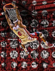 King James-- #ProBasketballMiamiHeat  -- #LebronJamesNBA