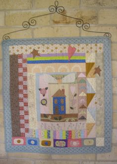 Wall hanging, a modified Barre Sue pattern