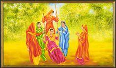 Image result for punjab painted landscape