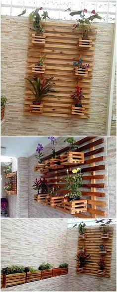 Our distinction is that we give priority to craft furniture that is of our prime domestic use. This modern looking pallets planter gives beautiful presentation worth your time and effort. It looks to be a fine and delicate work of craft. Growing plants is a popular hobby and if you are in love with the plants then this is the best craft for you.
