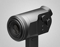 The is a concept design, a different take on a modern digital camera. Have you ever thought why most of the cameras are rectangular in shape? Plastic Design, Interior Sketch, Types Of Cameras, Camera Hacks, Design Language, Design Case, Consumer Electronics, Cool Things To Buy, Objects