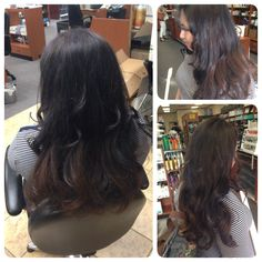 Brazilian Blowout and color and style by missy