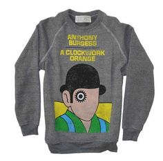 A Clockwork Orange by Anthony Burgess. | 23 Adorable And Quirky Ways To Wear Your Favorite Book