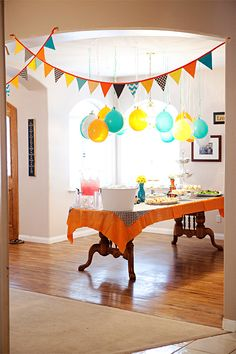 These but in different colour... // easy hanging balloons. i invested in good balloons, but bought a bag of glass beads from dollar tree to weigh them down